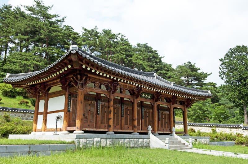 Maison traditionnelle coréenne photos libres de droits