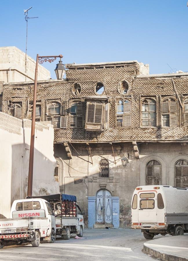 Maison traditionnelle à Damas Syrie photo libre de droits