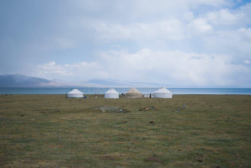 Maison traditionnelle de nomades photos libres de droits