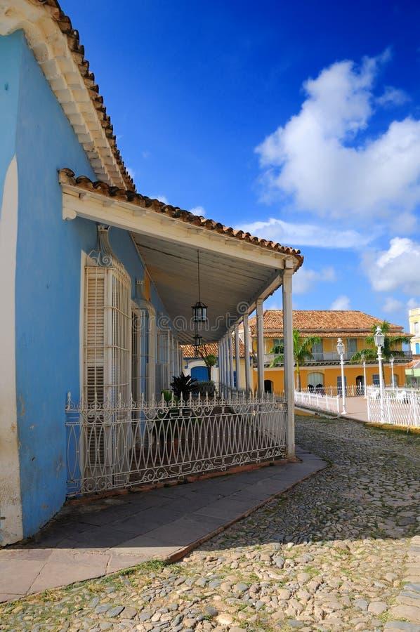 Maison tropicale - Trinidad, Cuba photos stock