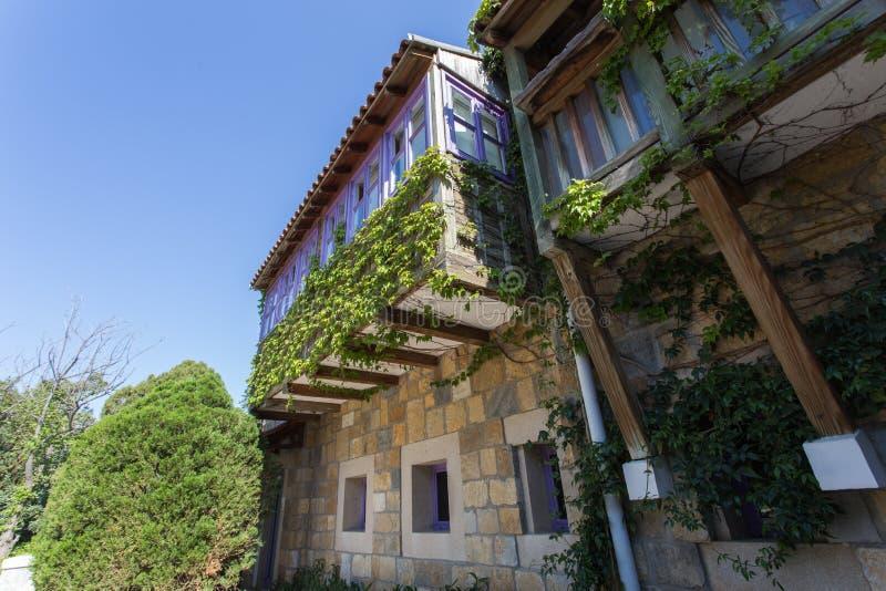 Maison turque traditionnelle photo stock