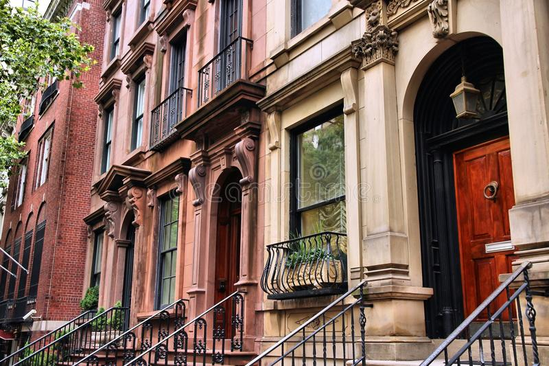 Maison urbaine de New York photos stock