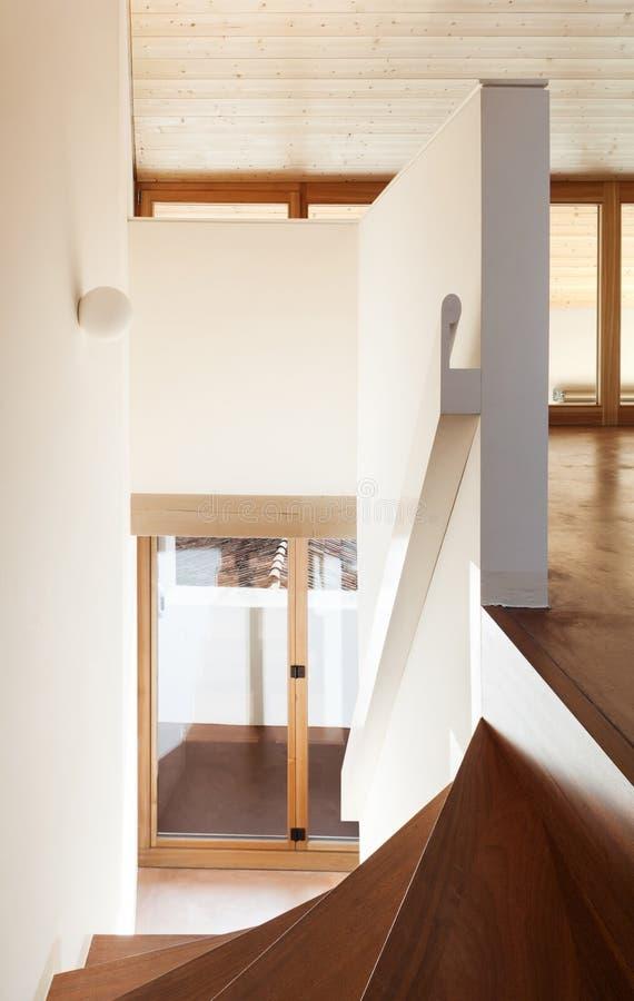 Maison vide intérieure photographie stock