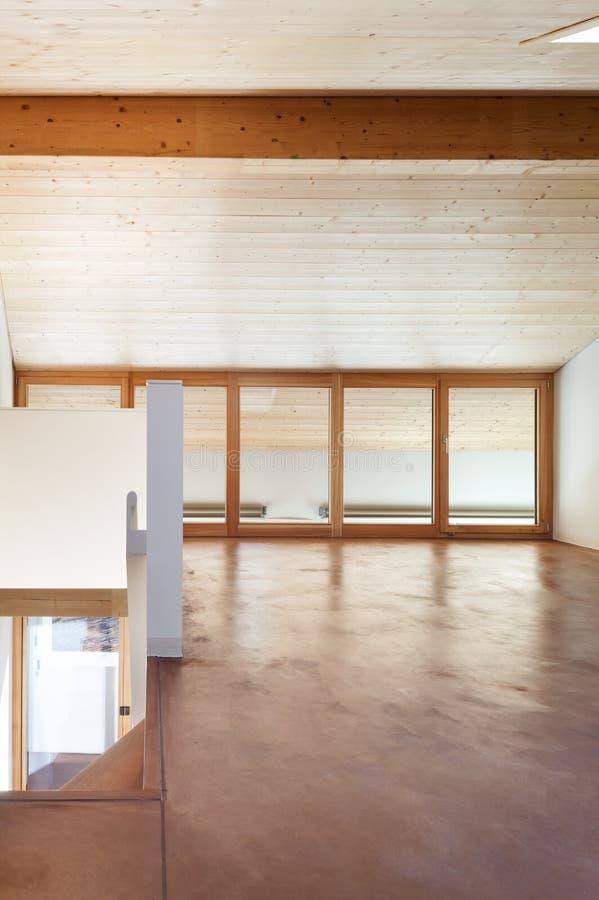Maison vide intérieure images stock