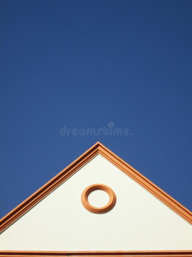 Maisons à pignon photos stock
