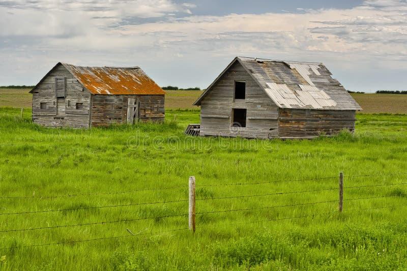Maisons abandonnées en Dorothy photos libres de droits