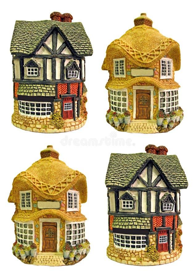 Maisons anglaises de pays photo stock