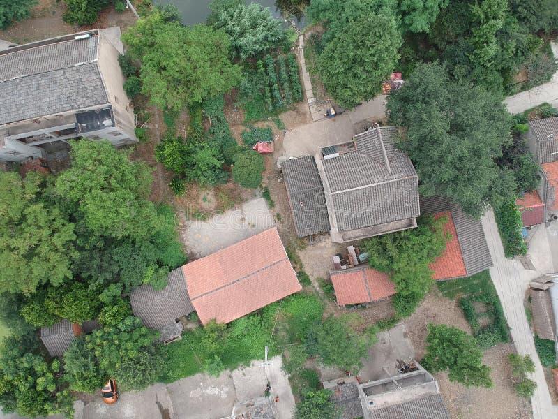 Maisons chinoises de village photo libre de droits