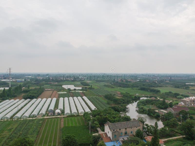 Maisons chinoises de village photos libres de droits