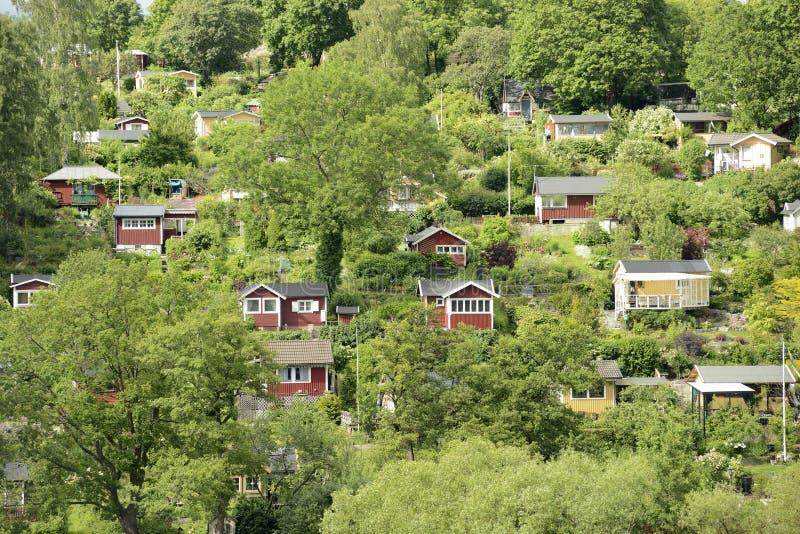 Maisons d'été photo libre de droits