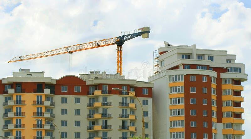 maisons de construction images stock