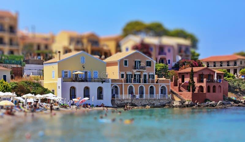 Maisons de luxe de vacances images libres de droits