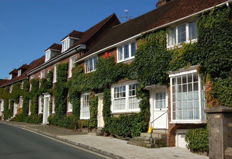 Maisons de Midhurst photos stock