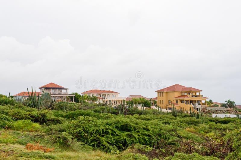 Maisons des Caraïbes de luxe images libres de droits