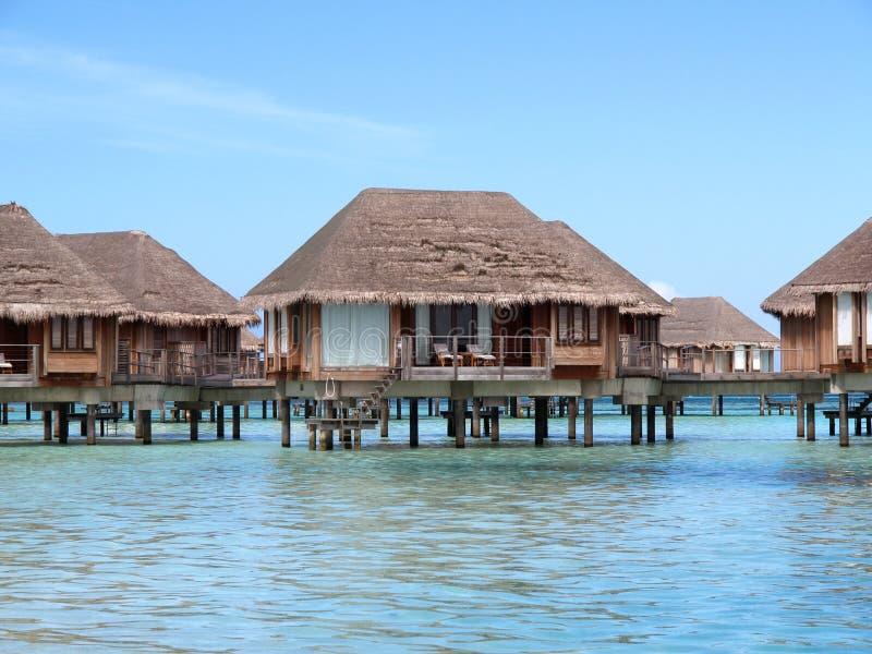 Maisons en mer image libre de droits