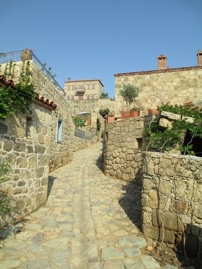Maisons en pierre photographie stock libre de droits