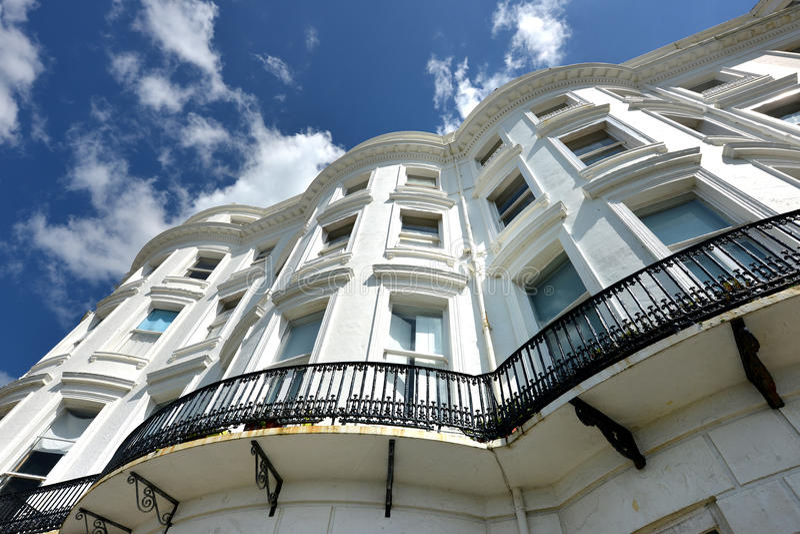 Maisons géorgiennes, Brighton images stock