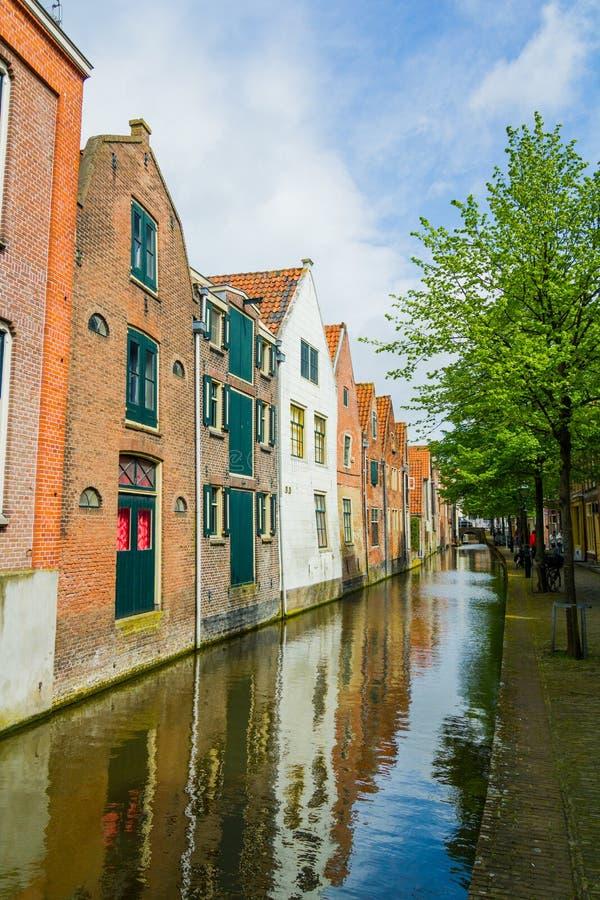 Maisons hollandaises types photo stock