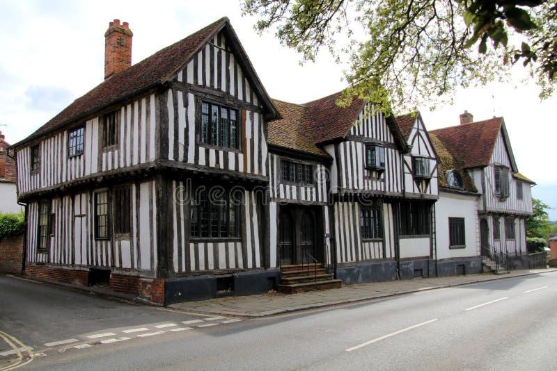 Maisons médiévales photos libres de droits