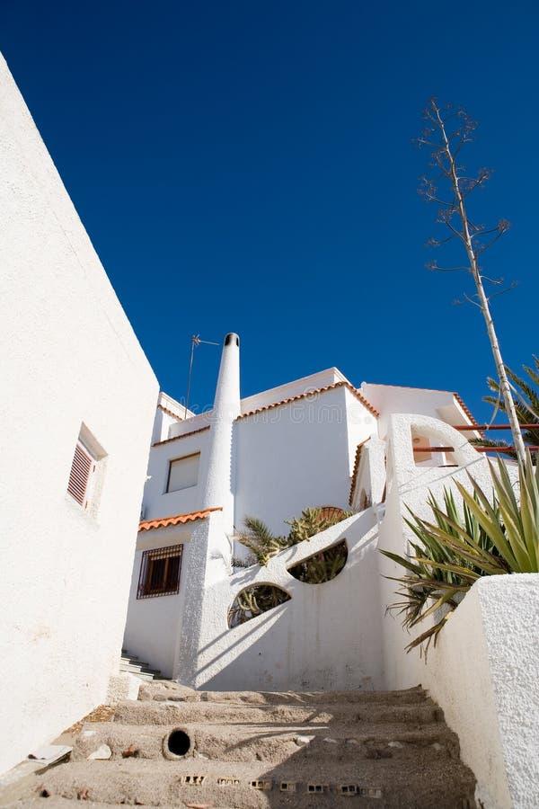 Maisons méditerranéennes image libre de droits