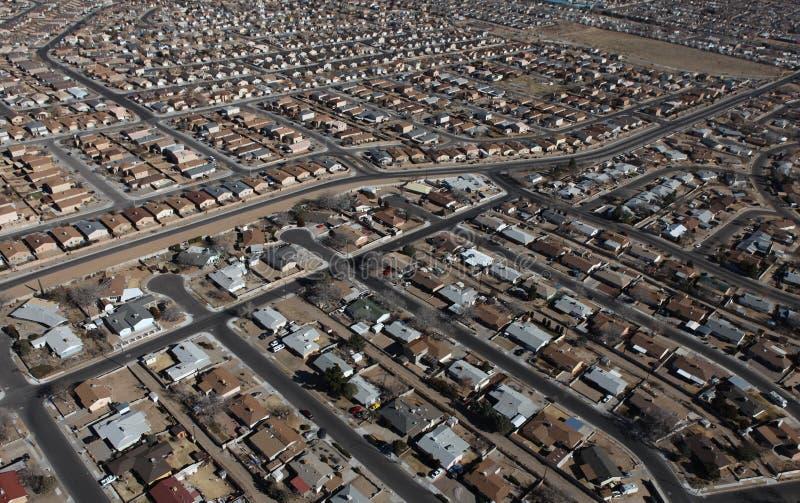 Albuquerque autoguide l'antenne image libre de droits