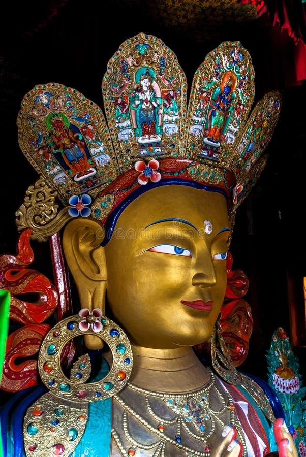 Maitreya (будущий Будда) стоковые фото