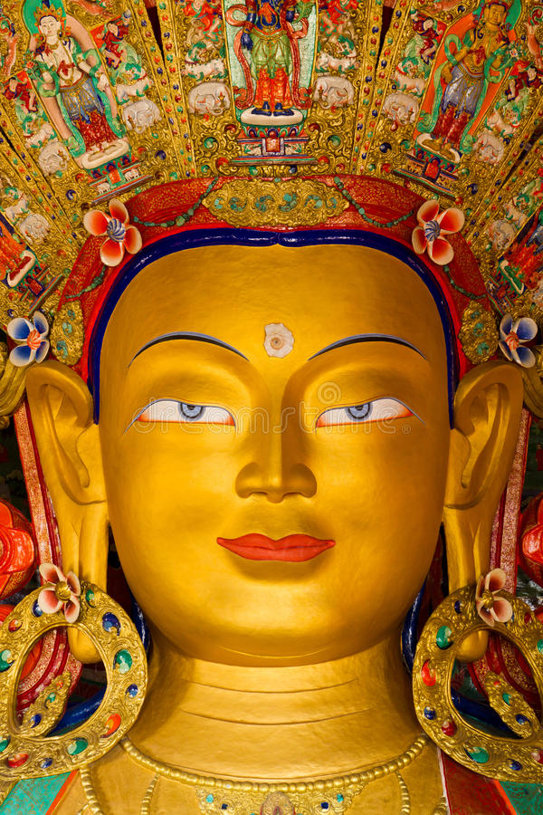 Maitreya Bouddha image stock