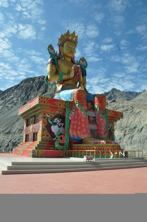 Download Maitreya Buddha stock image. Image of colors, monastery - 20977083