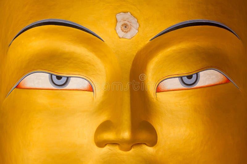 Maitreya Buddha lizenzfreies stockbild