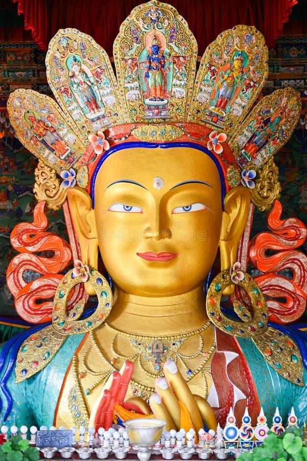 Maitreya Buddha fotografia stock