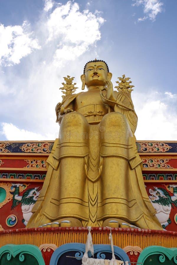 The Maitreya Buddha Image stock photography