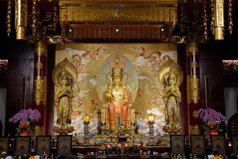 Maitreya Buddha, Singapur zdjęcie stock