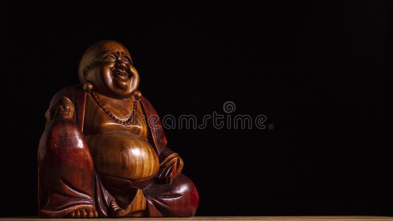 Maitreya sculpture royalty free stock images