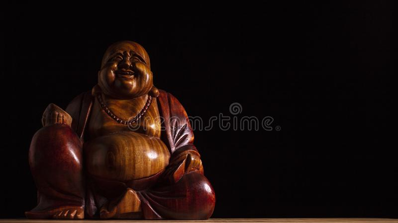 Maitreya skulptur arkivbild