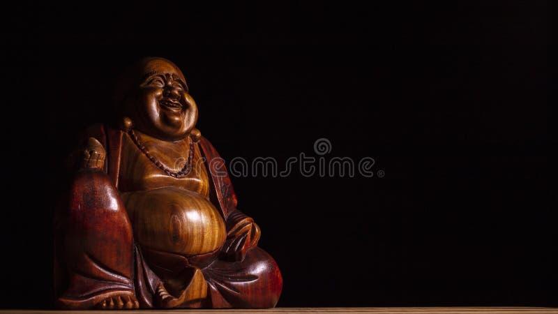 Maitreya skulptur arkivbilder