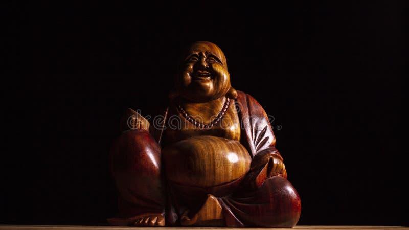 Maitreya skulptur royaltyfri bild
