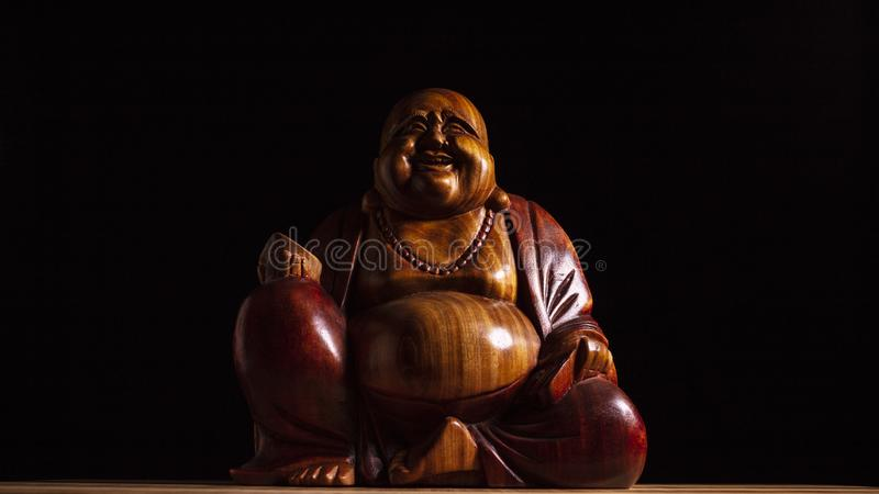 Maitreya skulptur royaltyfri fotografi