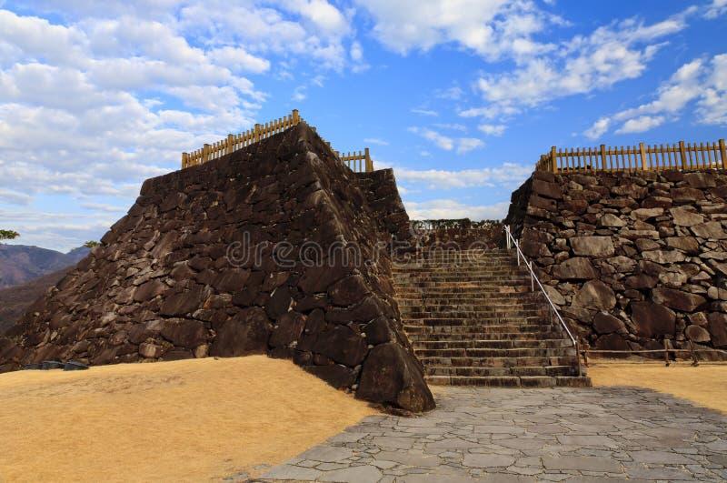 Maizuru Schloss von Kofu, Japan. stockfotografie
