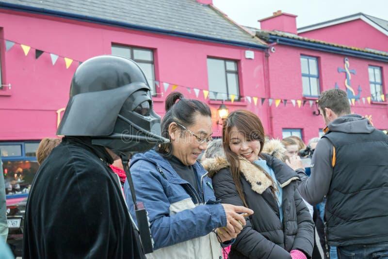 Maj być z tobą fourth Star Wars festiwal fotografia stock