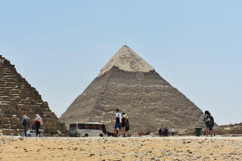 Maj, 6, 2019 Ostros?up Giza, Kair, Egipt obraz stock