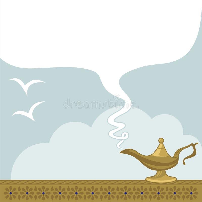 Maj Przychodzą Prawdziwego Wszystkie Twój życzenia ilustracja wektor