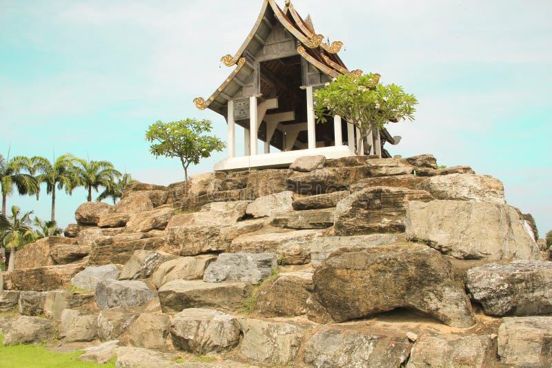 Maj 6, 2011 Tajlandia Pattaya Tropikalny Parkowy Nong Nooch, pięknej ogrodowej trawy botaniki punktu zwrotnego kolorowy dosyć ple fotografia stock