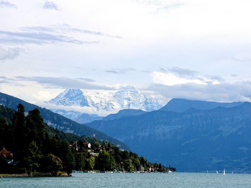 Majastic szwajcara Alps zdjęcia royalty free
