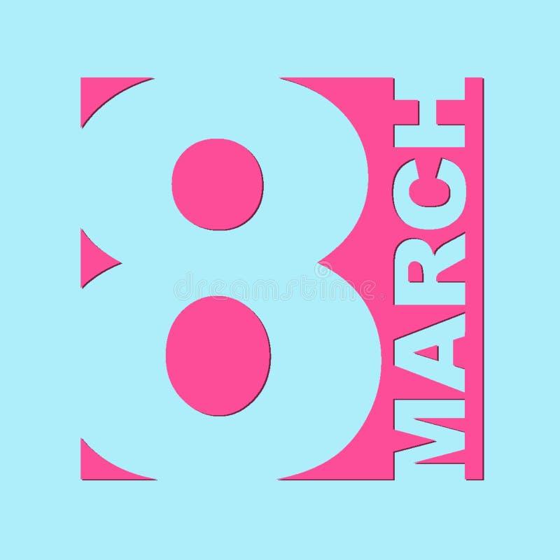 Majcheru majcheru 8 marsz zdjęcie royalty free