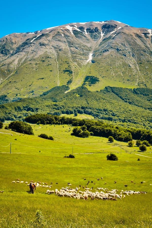 Majella-Berg Abruzzo Italien stockbilder