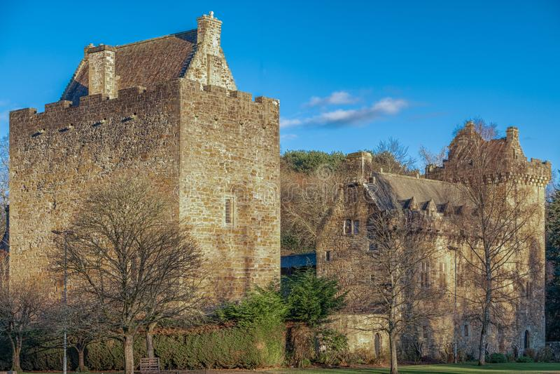 Majestätische Gebäude von Dekanschloss in Ostayrshire-rind Kilmarnock Sc stockbild