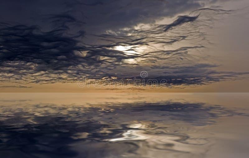 Majestätischer Himmel stockfotos