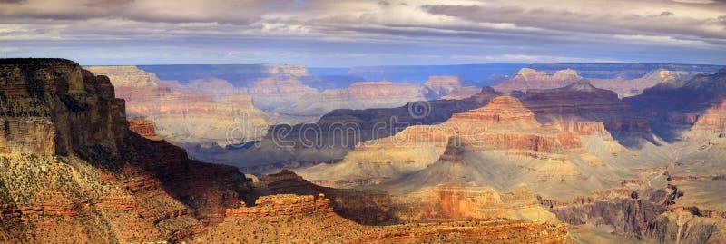 Majestätischer panoramischer szenischer Süd-Rim Grand Canyon National Park Arizona stockbild