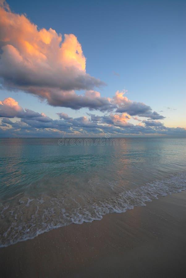 Majestätischer Sonnenaufgang stockfotografie