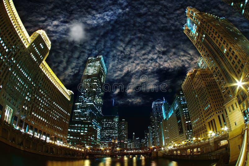 Majestätisches Chicago lizenzfreie stockfotos